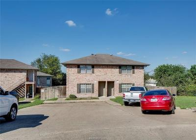 College Station Multi Family Home For Sale: 1205 Vinyard #A/B
