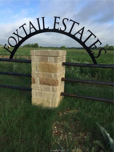 Bryan Residential Lots & Land For Sale: 4200 Foxtail Court