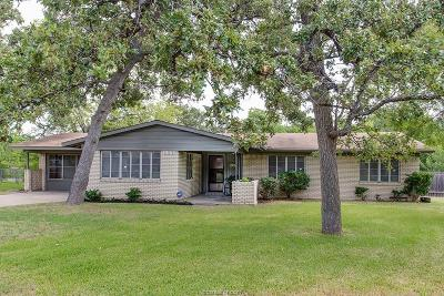 Bryan TX Single Family Home For Sale: $194,750
