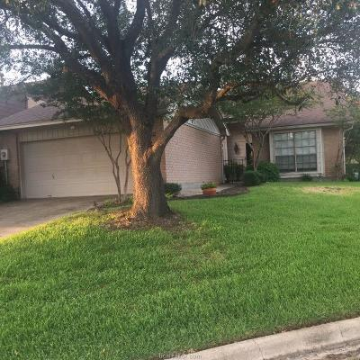 Bryan Single Family Home For Sale: 3009 Gleneagles Court