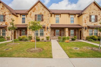 College Station TX Condo/Townhouse For Sale: $239,500