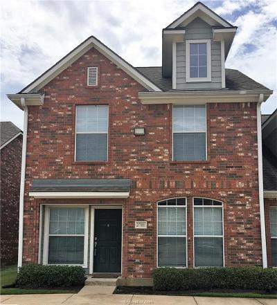 College Station TX Condo/Townhouse For Sale: $192,500