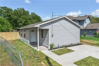 Brazos County Single Family Home For Sale: 1207 Phoenix Street