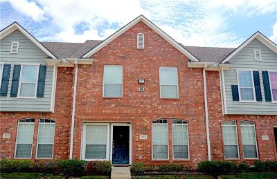 College Station TX Condo/Townhouse For Sale: $186,900