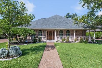 Bryan Single Family Home For Sale: 4708 Williamsburg Drive