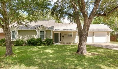 Bryan , College Station  Single Family Home For Sale: 513 Brooks Avenue