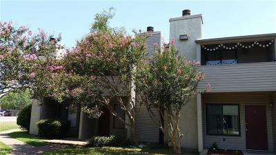 College Station TX Condo/Townhouse For Sale: $106,500