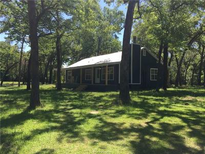 Caldwell TX Single Family Home For Sale: $224,500