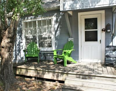 College Station Single Family Home For Sale: 509 Old Jersey Street