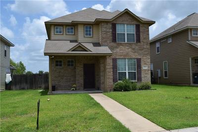 College Station TX Single Family Home For Sale: $215,000