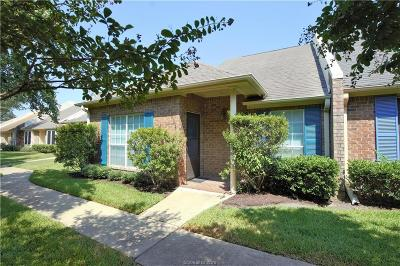 Bryan TX Condo/Townhouse For Sale: $175,000