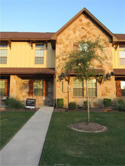 College Station Condo/Townhouse For Sale: 137 Armored Avenue