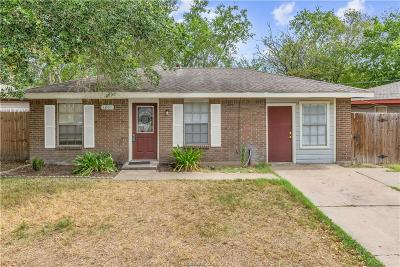 College Station Single Family Home For Sale: 1201 Detroit Street