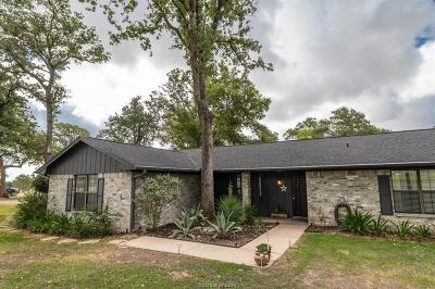 Burleson County Single Family Home Contingency Contract: 4125 County Road 365