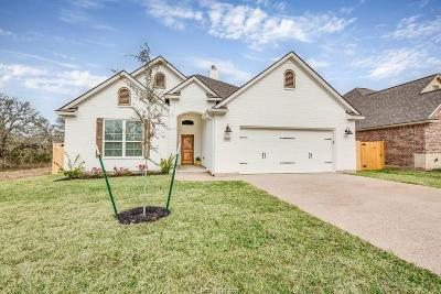 College Station TX Single Family Home For Sale: $332,500