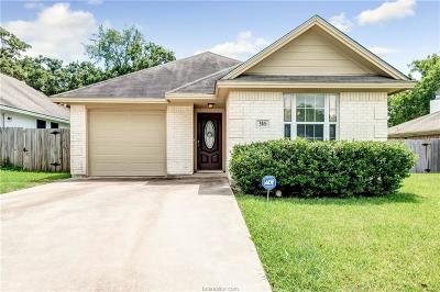 Bryan , College Station Single Family Home For Sale: 316 Silkwood Drive