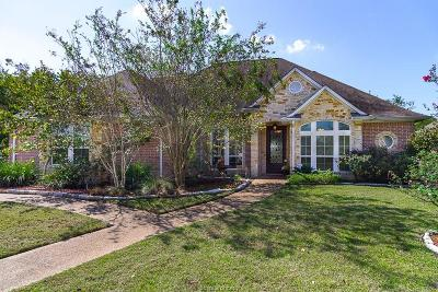 College Station Single Family Home For Sale: 5204 Cascades Drive