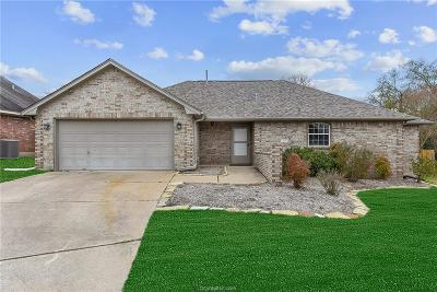 Bryan , College Station  Single Family Home For Sale: 4102 Chamberlain