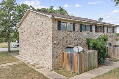 Brazos County Multi Family Home For Sale: 2401 Bosque Drive #A-D