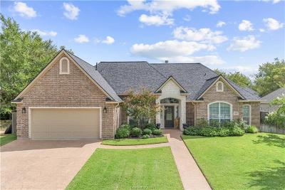 Bryan Single Family Home For Sale: 3208 Woodcrest Drive