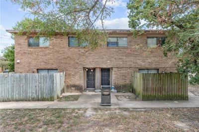 Brazos County Multi Family Home For Sale: 2406 Blanco Drive #A-D