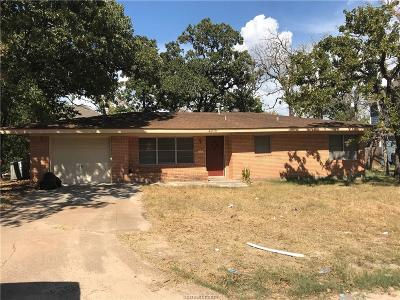 Bryan Single Family Home For Sale: 4205 Aspen Street