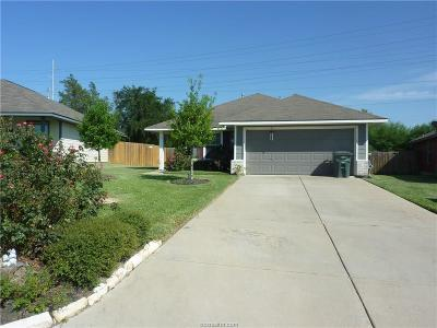 Bryan Single Family Home For Sale: 1282 Cottage Grove Circle