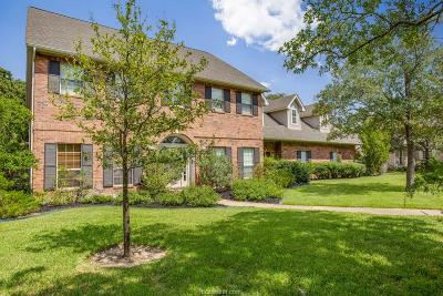 College Station Single Family Home For Sale: 2907 Camille Drive