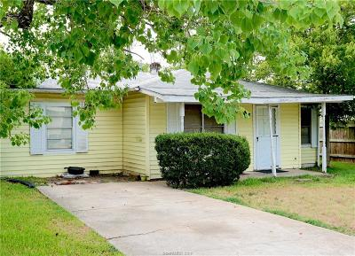 College Station Single Family Home For Sale: 302 Ash