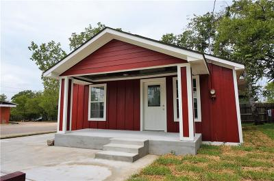 Bryan Single Family Home For Sale: 310 West 22nd Street