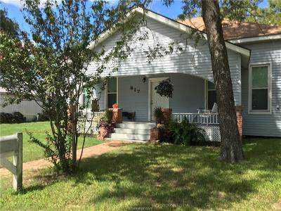 Grimes County Single Family Home For Sale: 817 Teague Street