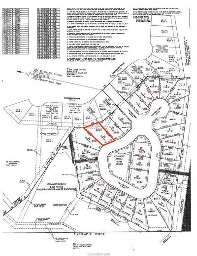 College Station Residential Lots & Land For Sale: 6991 Halter Loop