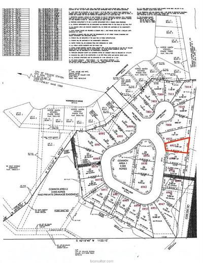 College Station Residential Lots & Land For Sale: 6927 Halter Loop