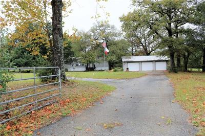 Leon County Single Family Home For Sale: 6612 State Highway 7 Highway