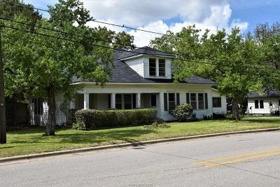 Burleson County Single Family Home For Sale: 208 Banks St