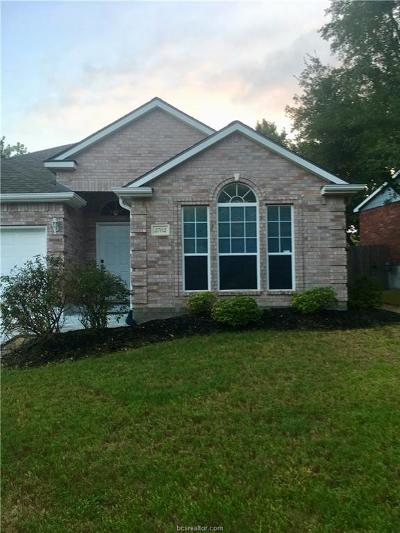 Bryan Single Family Home For Sale: 2702 Bayberry Court