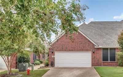 College Station Condo/Townhouse For Sale: 1614 Culture Lane