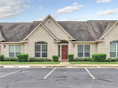 College Station Condo/Townhouse For Sale: 204 Fraternity