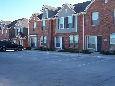 College Station Condo/Townhouse For Sale: 1001 Krenek Tap Road #1504