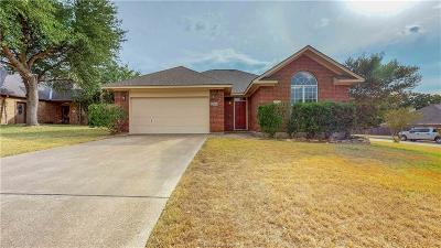 Bryan Single Family Home For Sale: 2800 Brandywine Circle