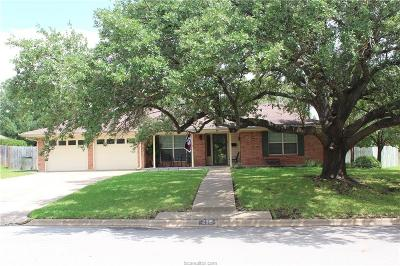 Bryan Single Family Home For Sale: 2315 Kent Street