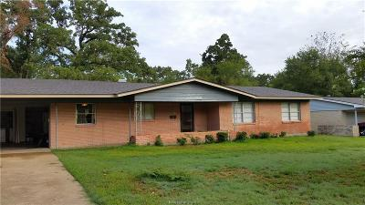 Bryan Single Family Home For Sale: 114 Greenway Drive