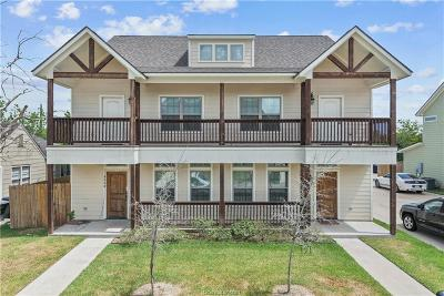 Bryan , College Station Multi Family Home For Sale: 406 Ash Street #A&B