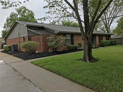 Bryan Single Family Home For Sale: 1107 Dona Drive