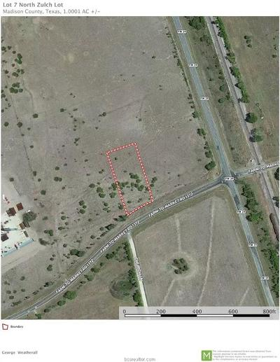 College Station, Bryan, Iola, Caldwell, Navasota, Franklin, Madisonville, North Zulch, Hearne Residential Lots & Land For Sale: 0000 Fm 1372 County Road