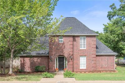 College Station Single Family Home For Sale: 1805 Amber Ridge Drive