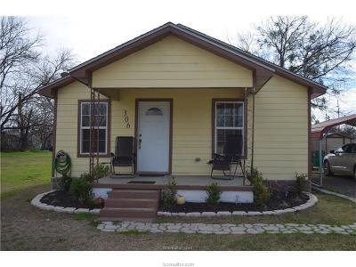 Robertson County Single Family Home For Sale: 306 West Texas
