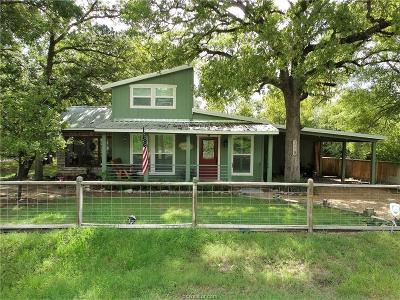 Burleson County Single Family Home For Sale: 318 Hill Loop