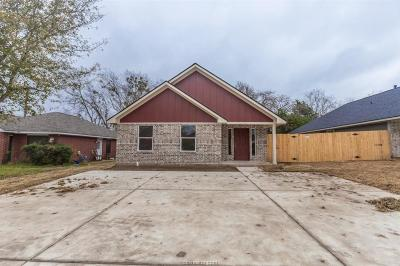 Bryan TX Single Family Home For Sale: $177,600