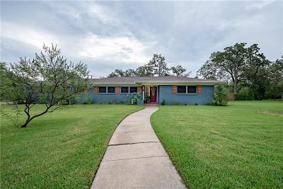 Brazos County Single Family Home For Sale: 811 Esther Boulevard